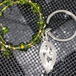 Brighton Accessories - Brighton keychain with Crystal bracelet